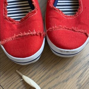 kate spade Shoes - Red Kate Spade Sneakers